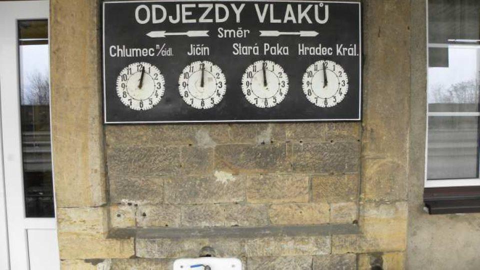 Ostroměř - nádraží
