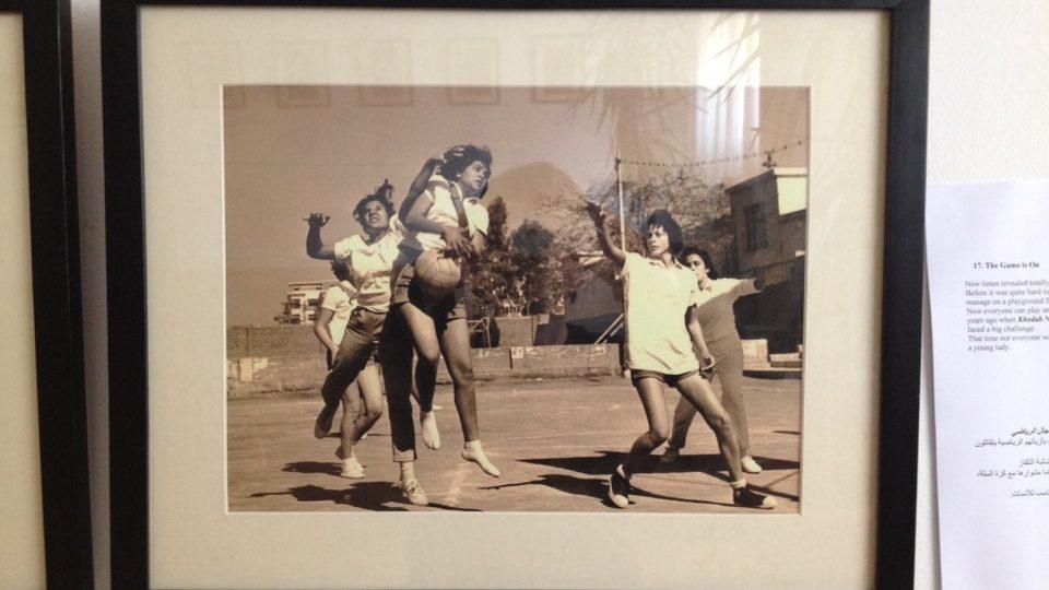 V polovině minulého století se ženy aktivně účastnily různých sportovních disciplín