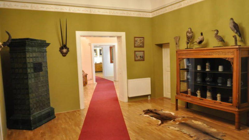 Expozice zámku Moravská Třebová