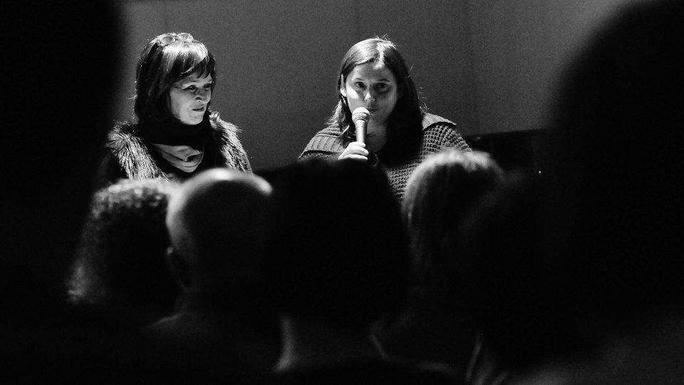 Koncertem provázely Dagmar Misařová a Monika Horsáková