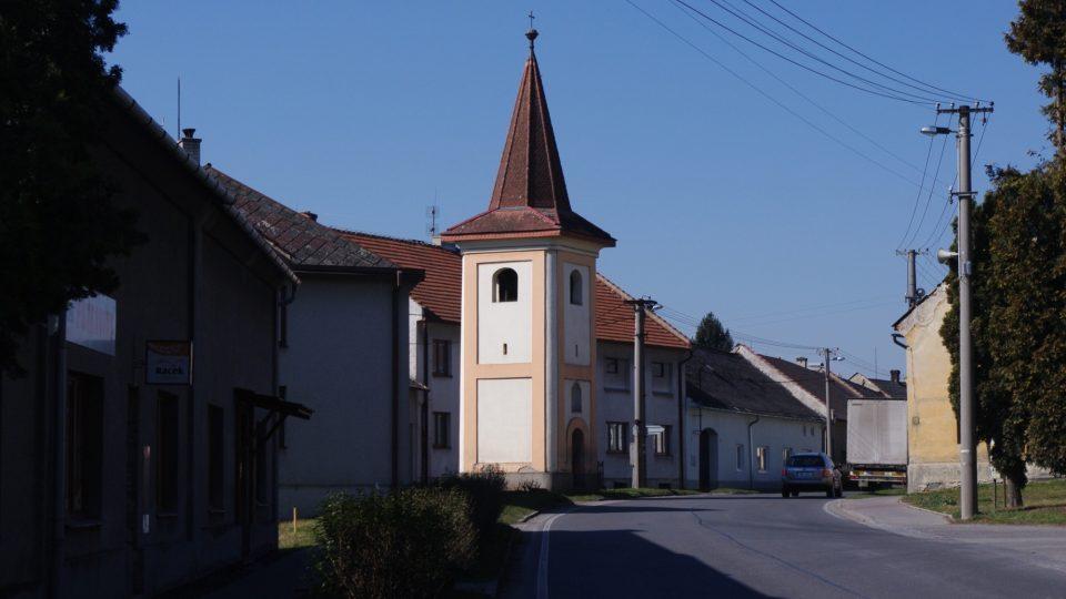 Prosenice - Zvonička v Malých Prosenicích