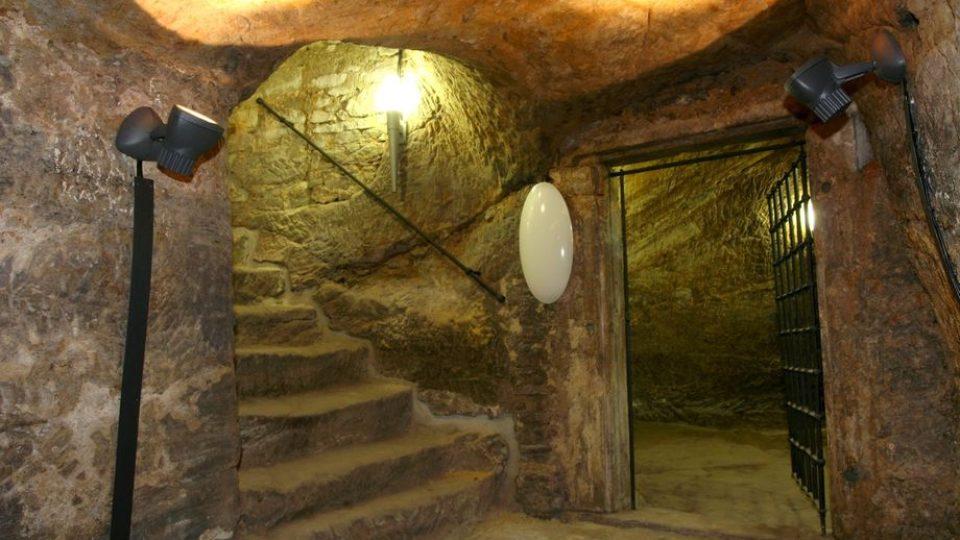 Sklepení Chvalského zámku