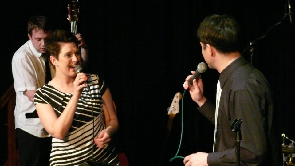 Dvojkoncert Voxtetu a Two Towers Hulu Jazz v českobudějovickém rozhlase