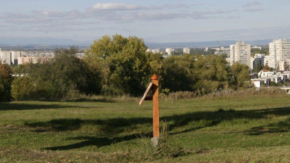 Planetární stezka - panorama pohoří Krkonoš