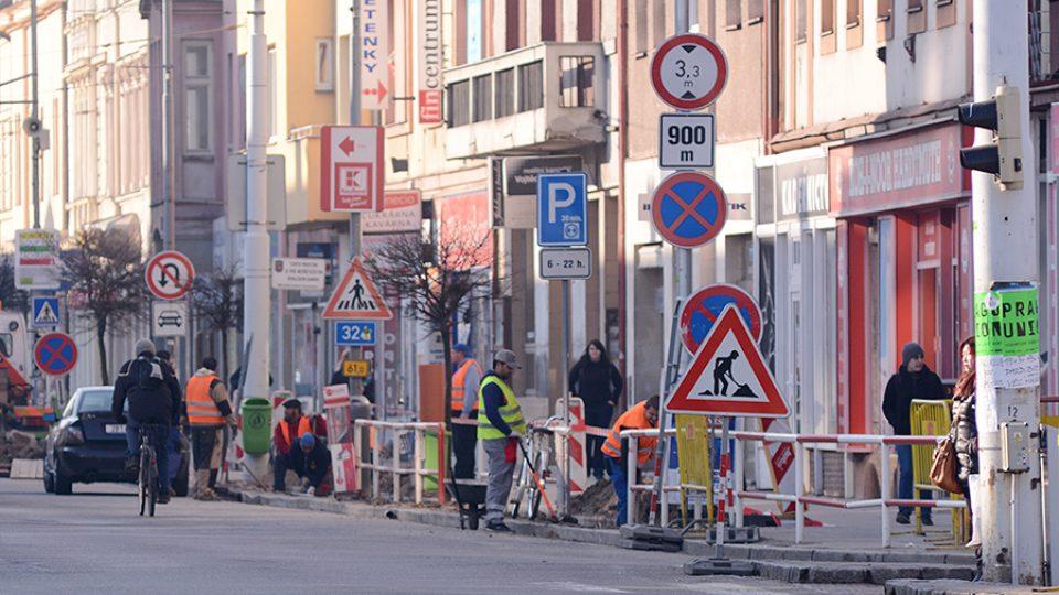 Rekonstrukce ulice 17. listopadu začíná