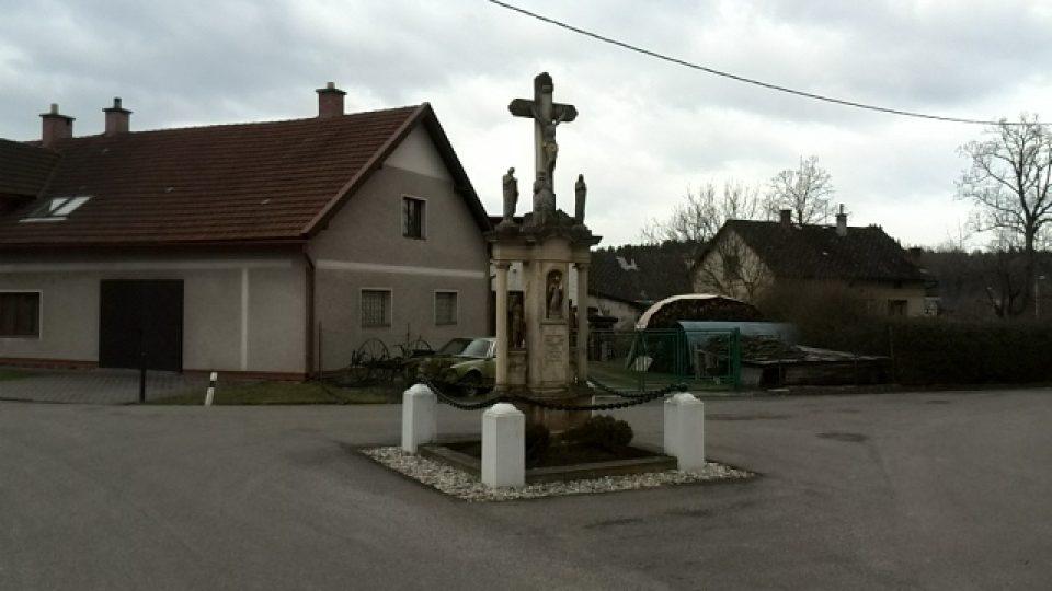 Malá Čermná - křížek