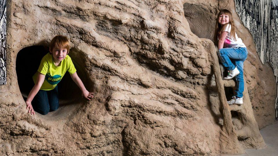 GeoLab - jeskyně plazivka