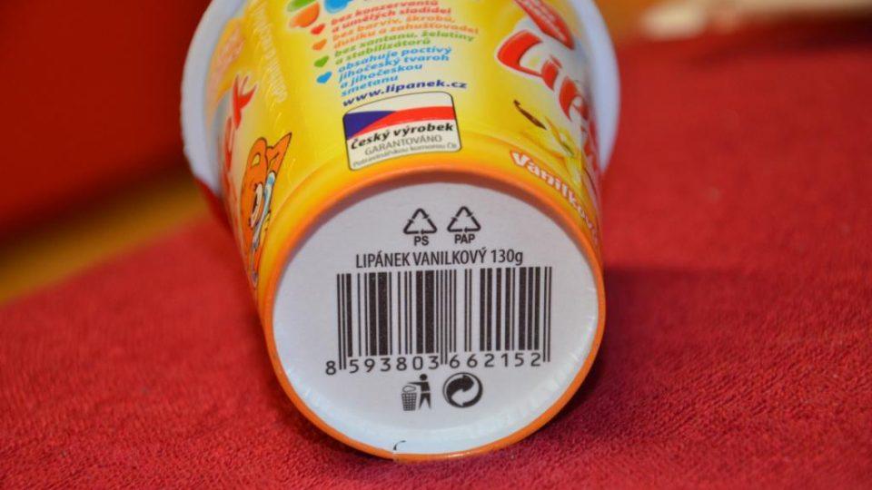 13ti místný čárový kód, 859 značí ČR, ve které je společnost, uvádějící zboží na trh, registrovaná