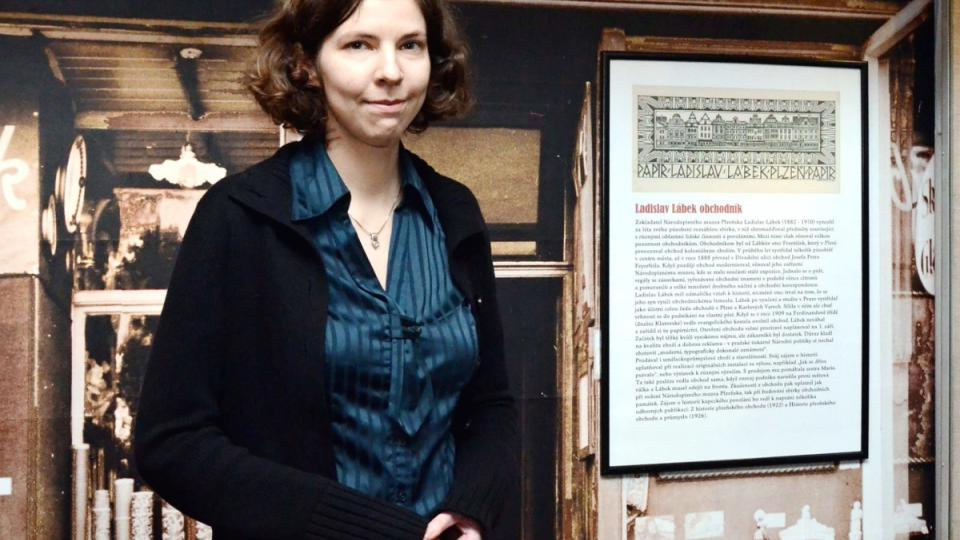 Jana Slámová, kurátorka Národopisného muzea Plzeňska