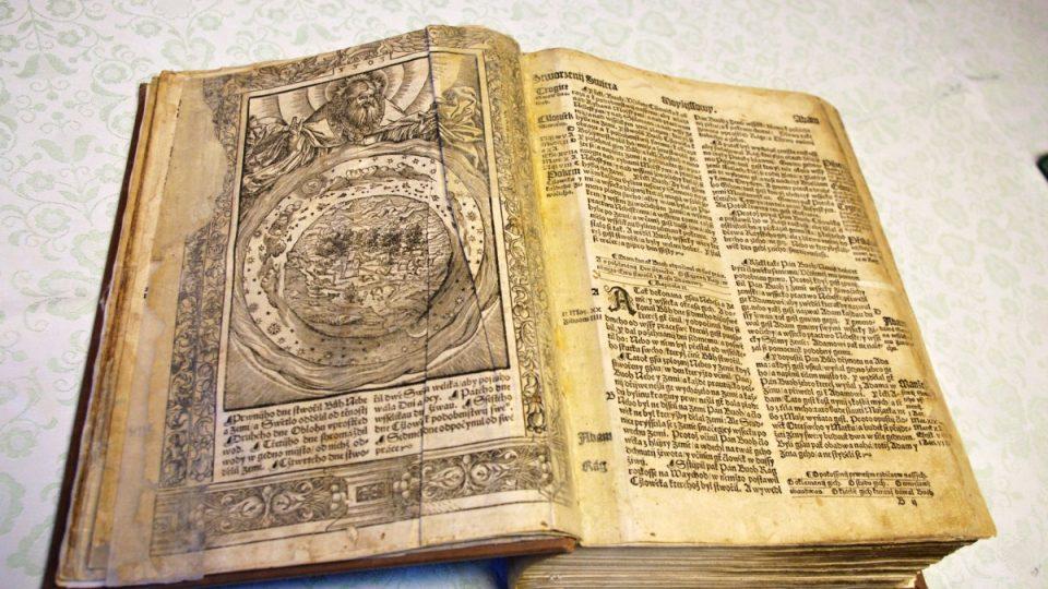 Melantrichova Bible z roku 1549