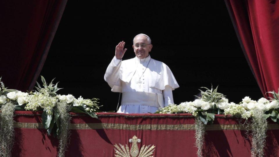 Poselství Urbi et orbi, papež František
