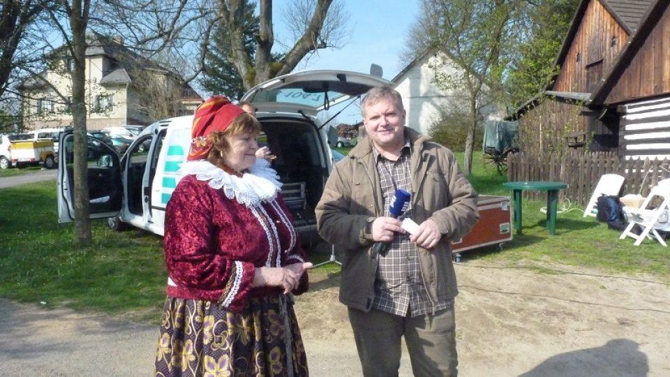 Malérečka Marie Čiháková a Pavel Kudrna