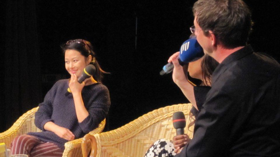 Aleš Cibulka a herečka Ha Thanh Nguyen