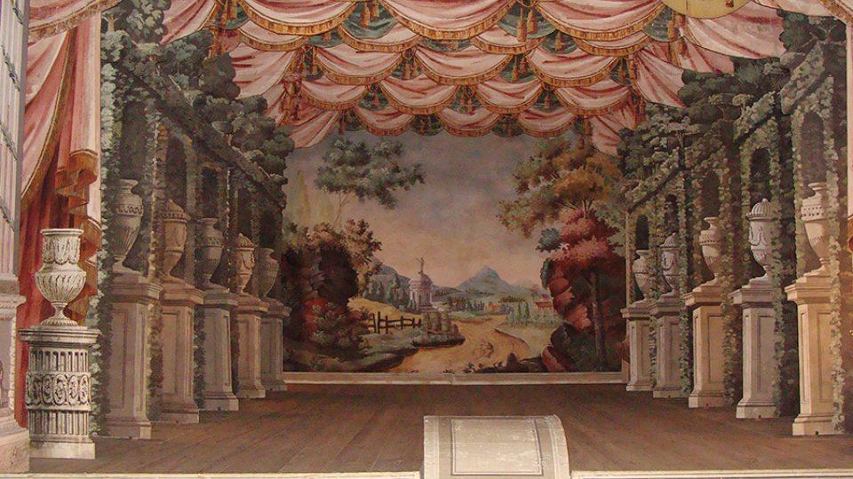 Jeviště zámeckého divadla