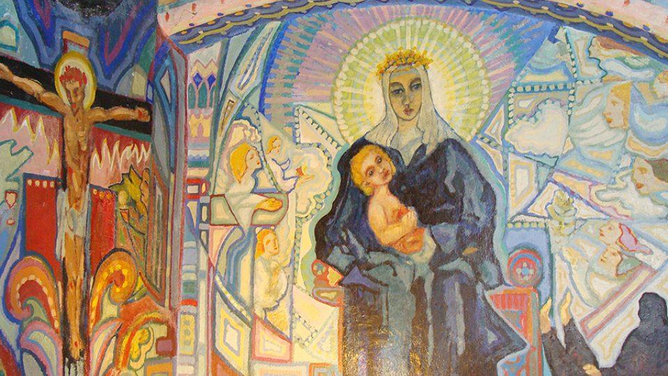 Nástěnná malba v Portmoneu