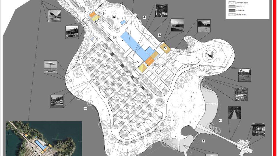 Plánek maríny u Stéblové