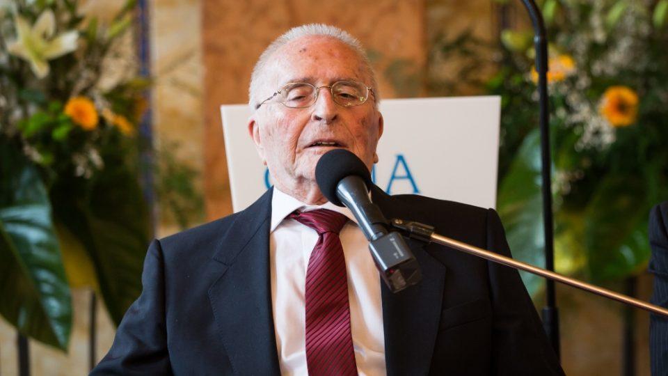 Bedřich Utitz, laureát Ceny Arnošta Lustiga 2013