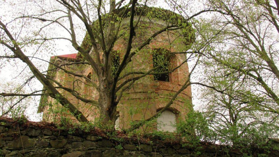 Zřícenina kostelu Svatobor