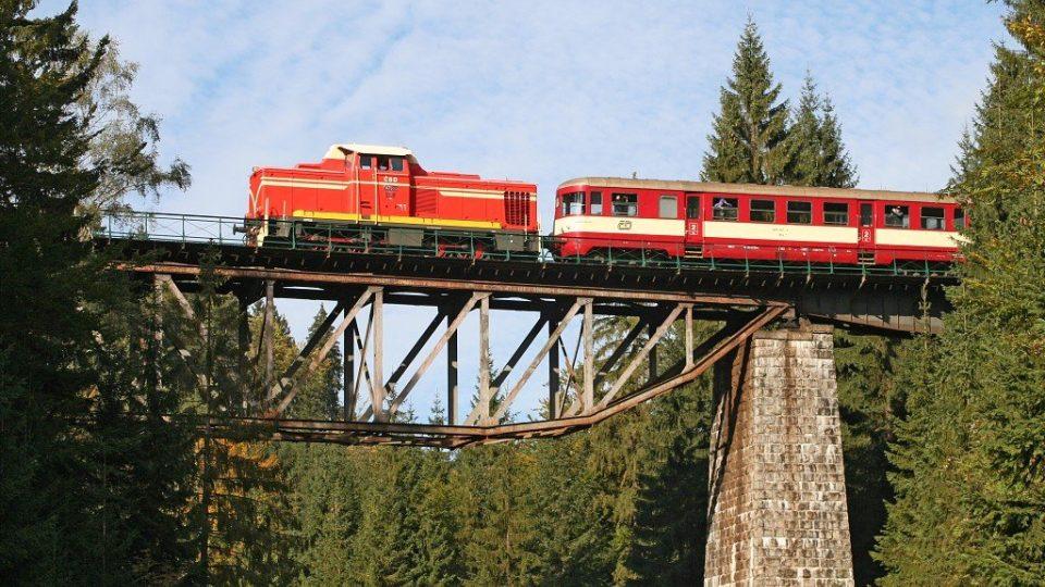 Ozubnicová železnice na trase Tanvald - Kořenov