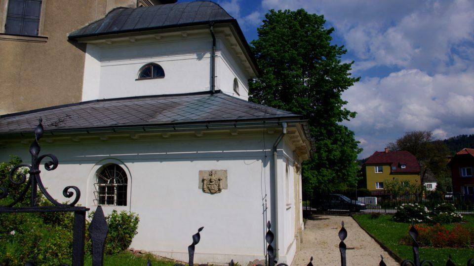 Žerotínská hrobka v Bludově