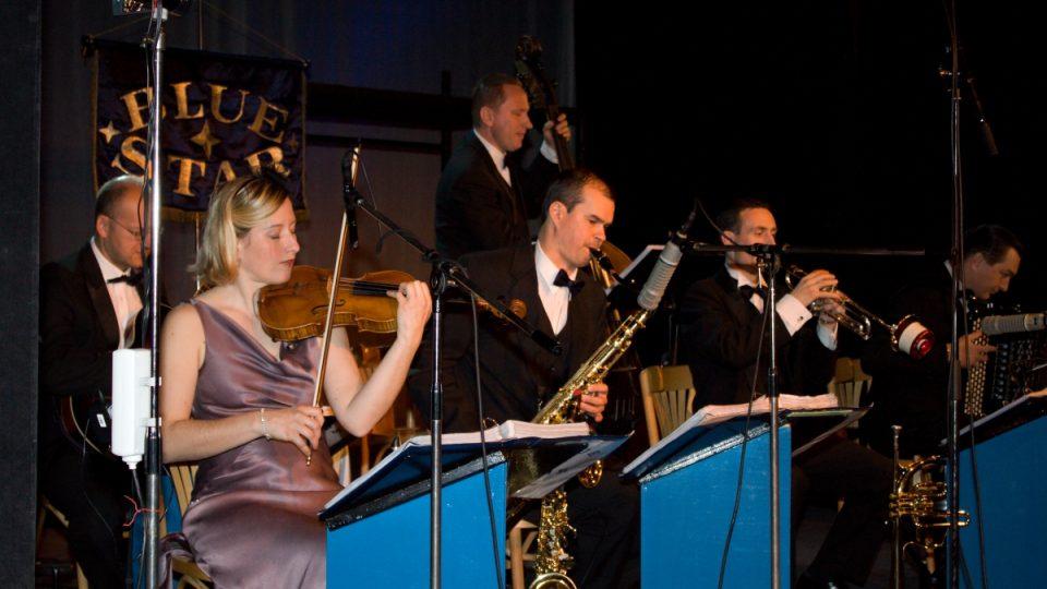 Orchestr Blue Star Václava Marka v Toboganu