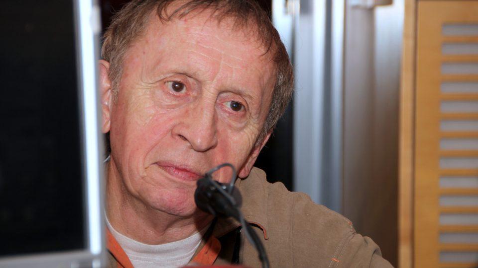 Spisovatel Ivan Kraus byl hostem Radiožurnálu