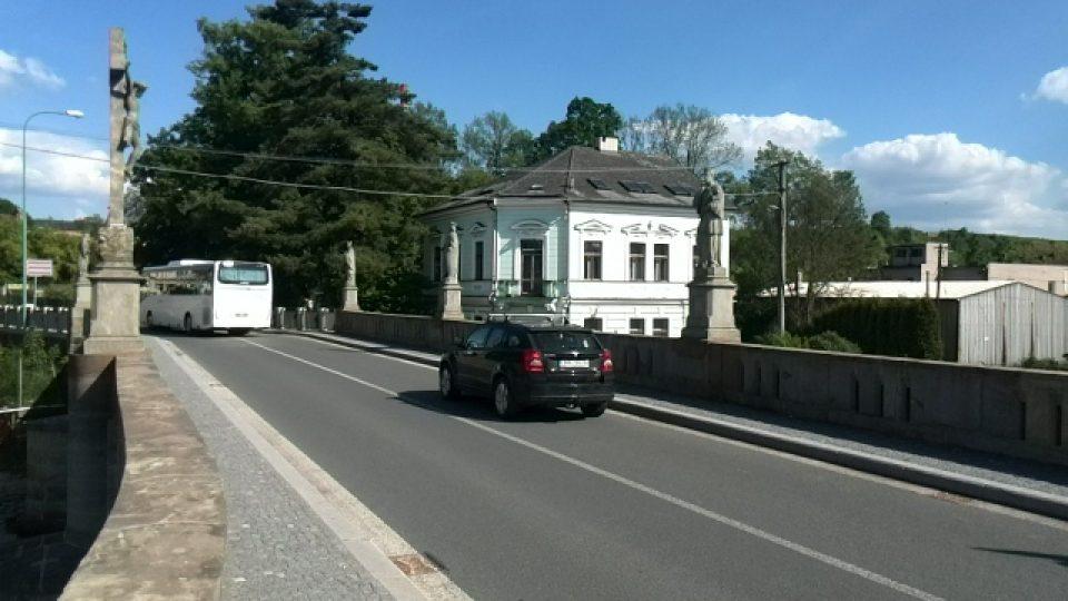 Most přes Zdobnici ve Vamberku