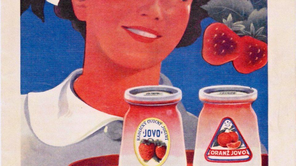 Reklama na Jovo z Magazínu Velké operety