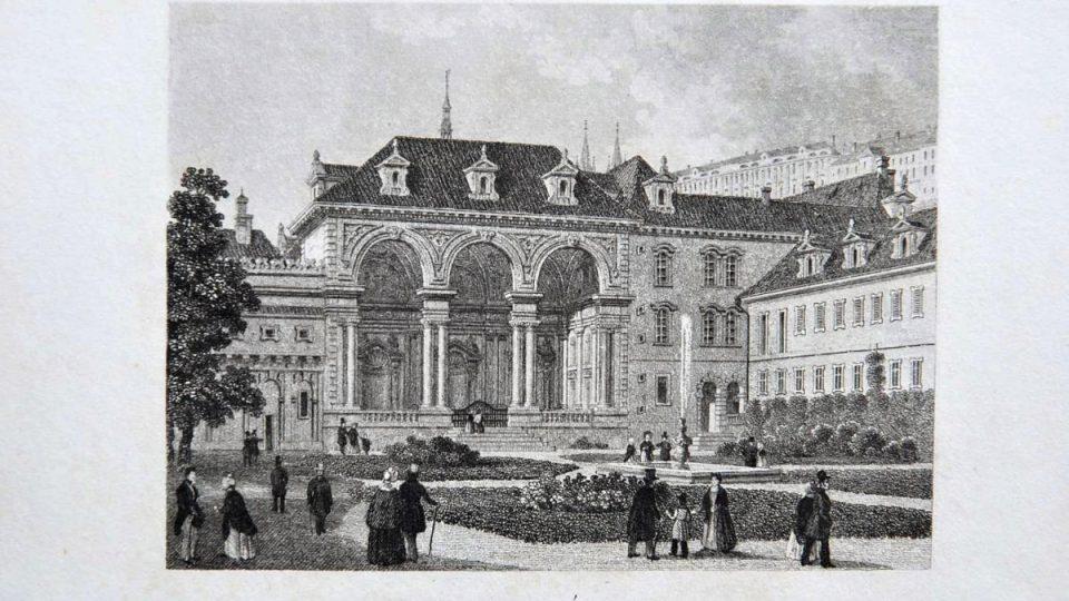 Oceloryt, sala terrena, rok 1863