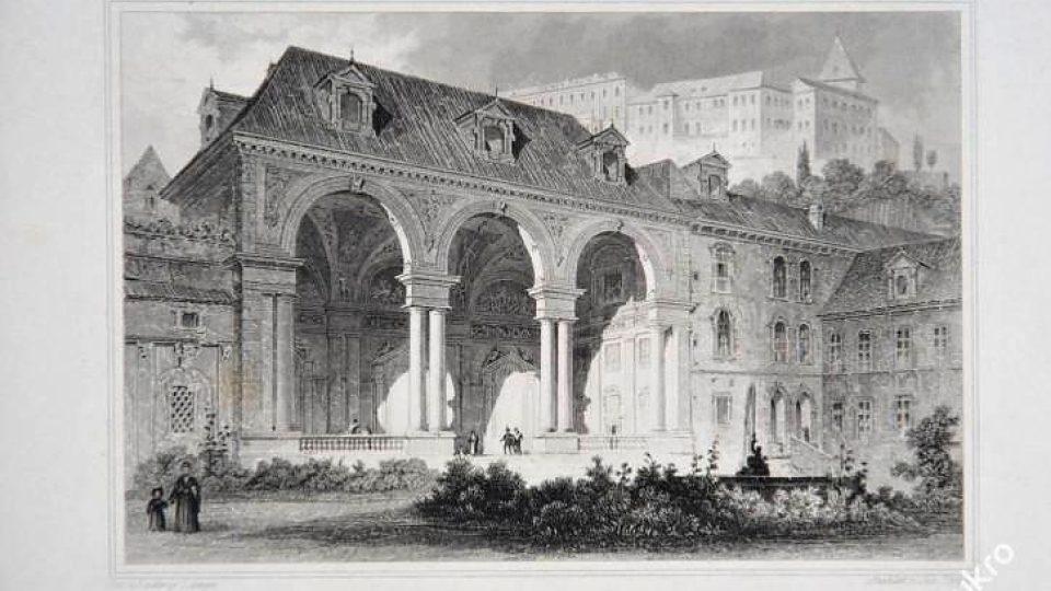 Oceloryt, salla terrena, rok 1841