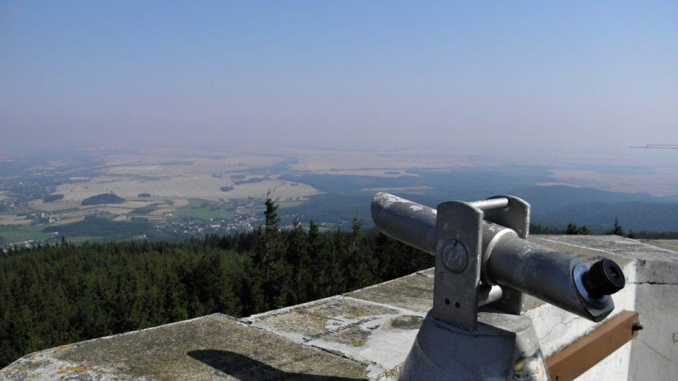 Biskupská kupa - můžete použít i dalekohled
