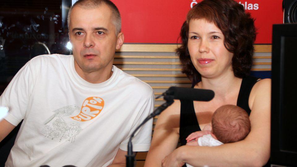 Tomáš a Lenka Hečkovi nastínili, jaké nejčastější mýty panují o dětech s Downovým syndromem