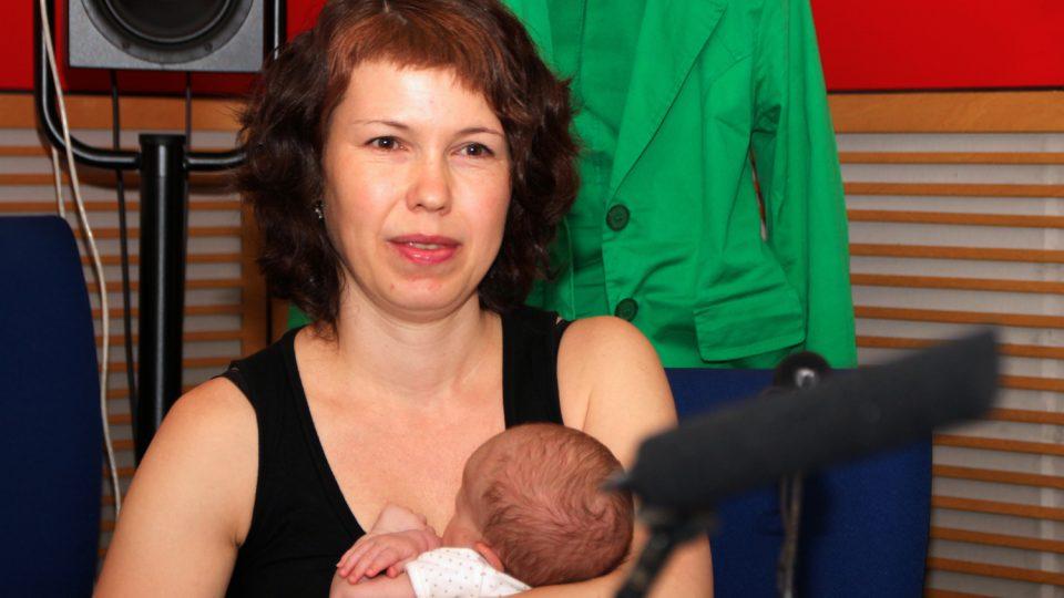 Lenka Hečková se dozvěděla o tom, že její dcera má Downův syndrom, až po porodu