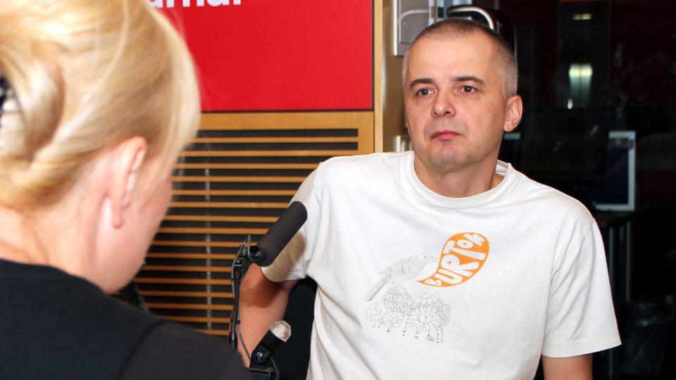 Tomáš Hečko mluvil o fungování Společnosti rodičů a přátel dětí s Downovým syndromem
