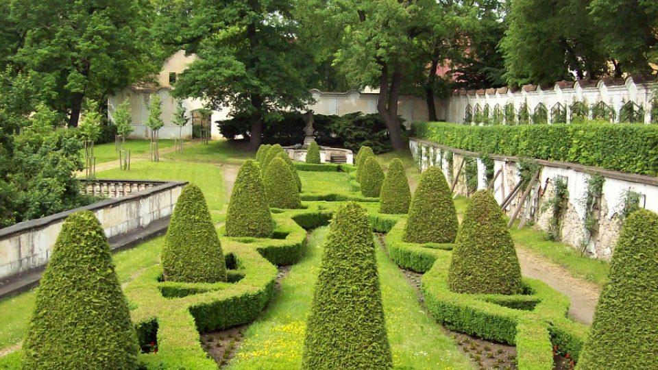 Zámek Duchcov - část Knížecí zahrady