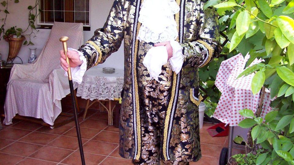Zámek Duchcov - Giacomo Casanova alias Milan Petrovský