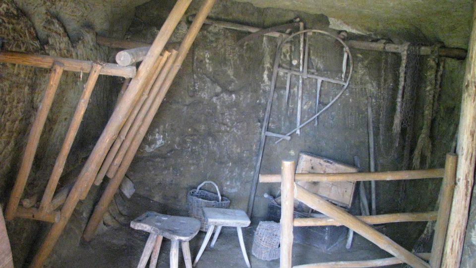 Ve skalních obydlích lidé chovali i hospodářská zvířata