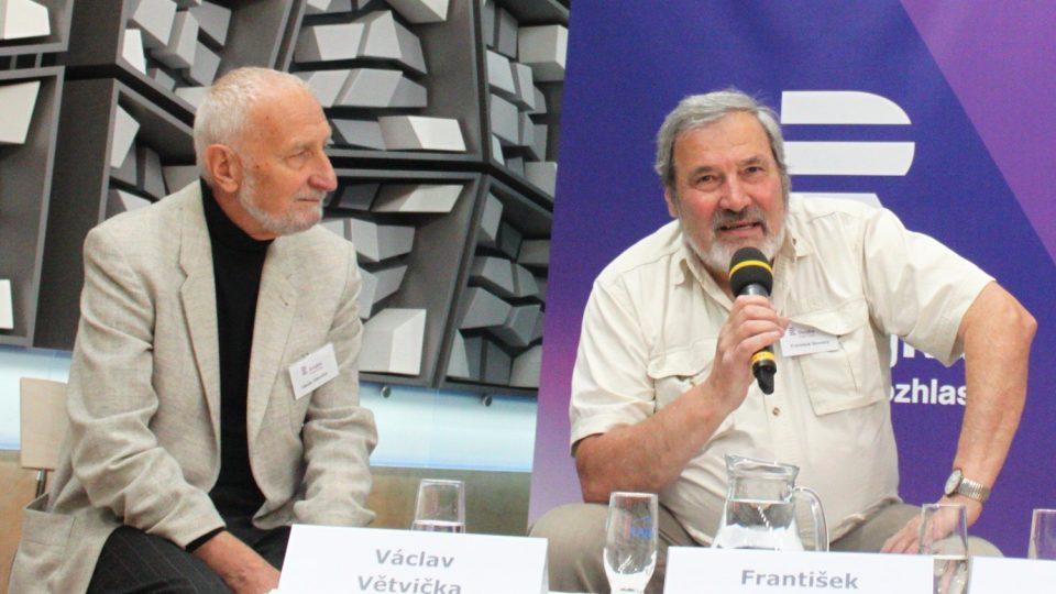 Václav Větvička a František Novotný