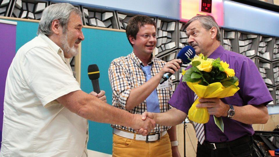 František Novotný, Aleš Cibulka a Miroslav Dittrich