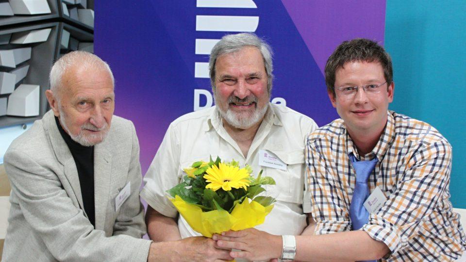 Václav Větvička, František Novotný a Aleš Cibulka