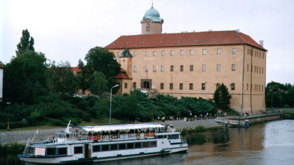 Kotviště pod zámkem v Poděbradech