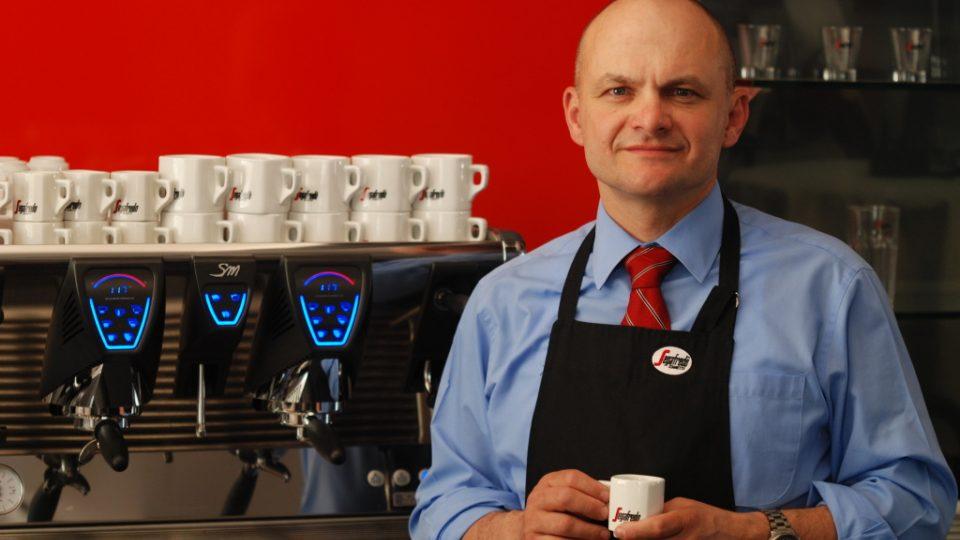 Miroslav Splavec, lektor kávové školy