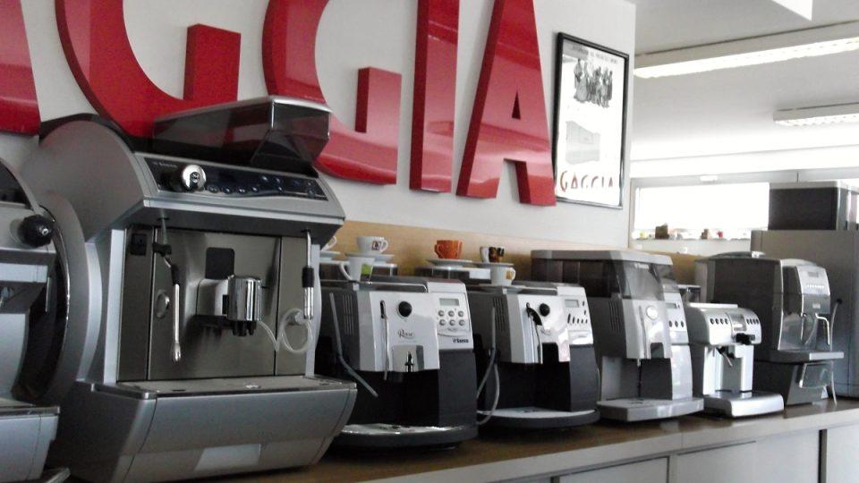 Zástup kávovarů