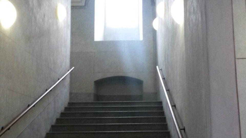 Klenbové stropy kláštera - vnitřní chodby