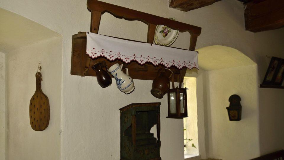 Babiččino údolí - mlýn, interiér