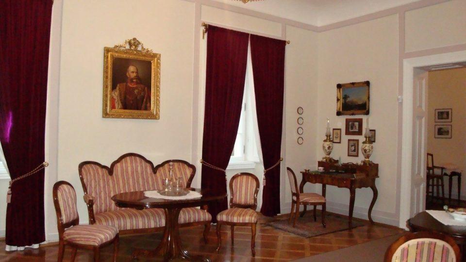 Pánský salon, Zámek Ratibořice