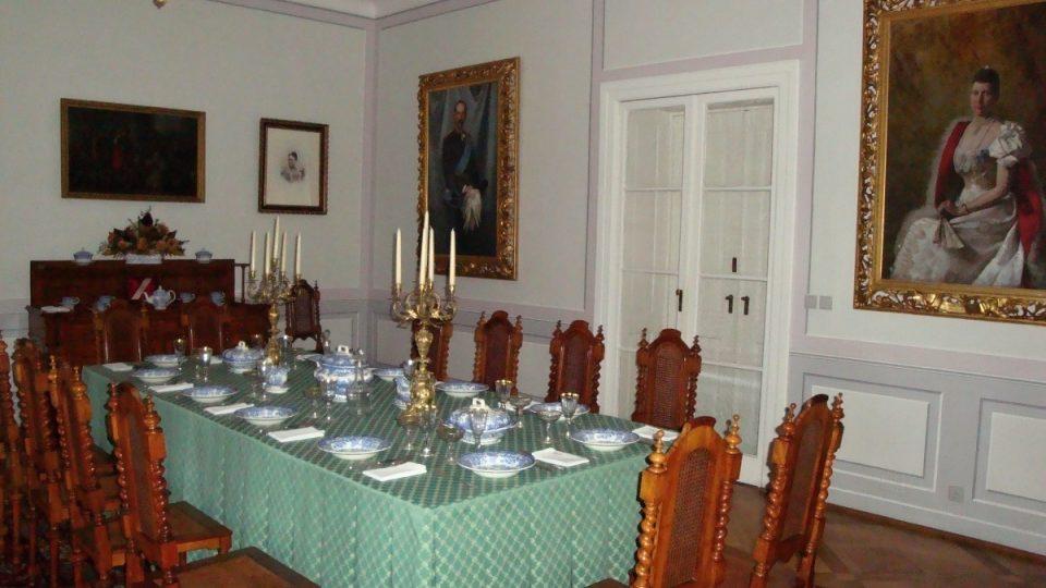 Velká jídelna, Zámek Ratibořice