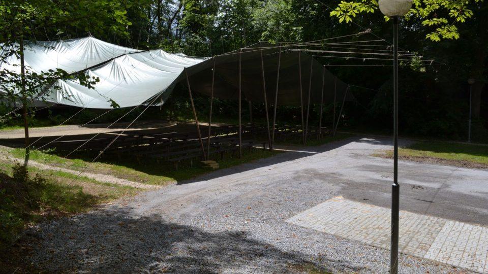 Novodobý areál pašijových her v Hořicích, 2014