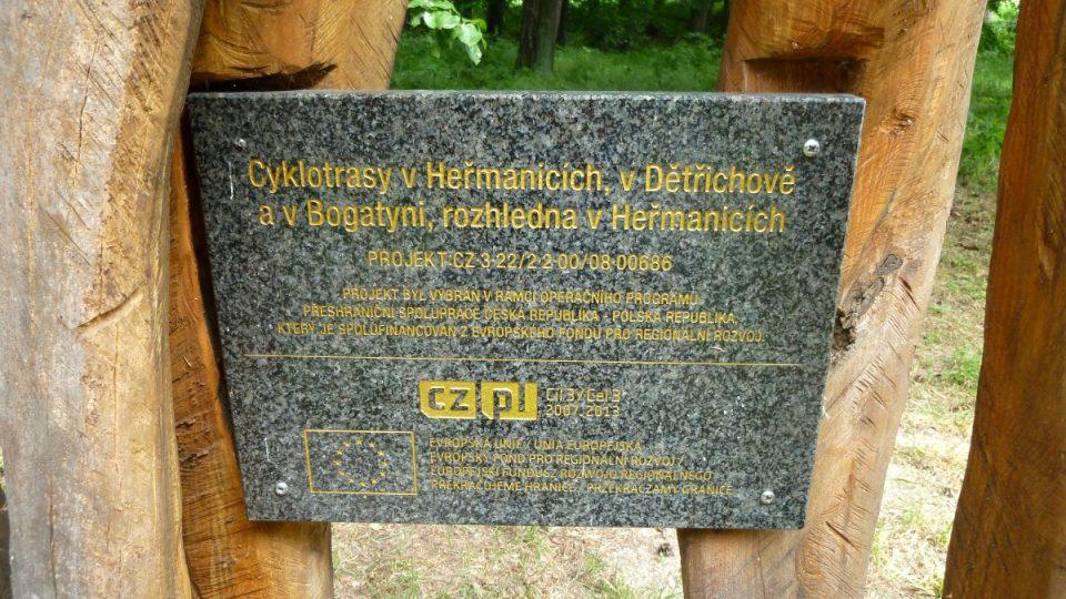 Vokurka je na trase cyklostezky z Polska do Česka