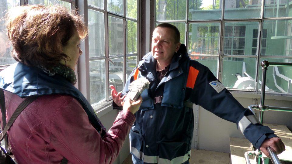 Lodní zdviž v Niederfinowě má na povel Jörg Schumacher